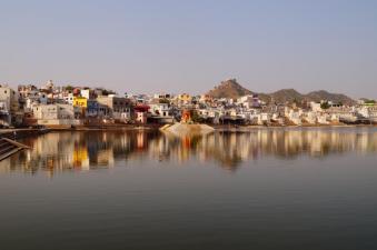Beautiful Pushkar, Indien.