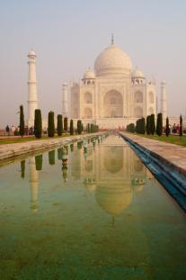 Taj Mahal. Touri like a pro!
