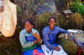 Arbeiterinnen auf der Teeplantage.