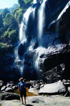 Wasserfall, Nuwara Elyia. Sri Lanka