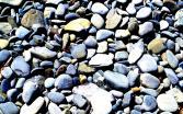 Keine Muscheln, nur Steine.