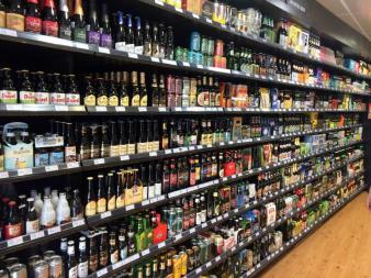 Vorher im Supermarkt auswählen...