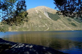 Ein Campingplatz am See - hat schon was.